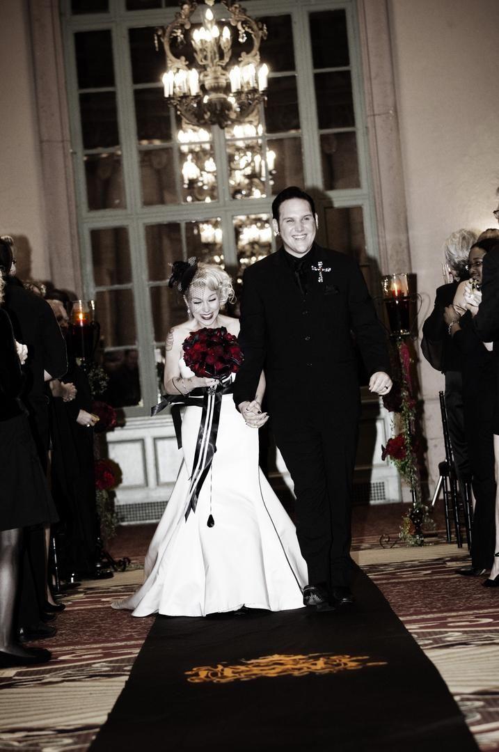 affordable wedding photographers in los angeles%0A Atreyu u    s Brandon Saller u    s Rock  u    n u     Roll Wedding in Los Angeles