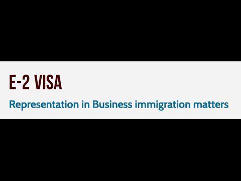 e2 visa interview questions
