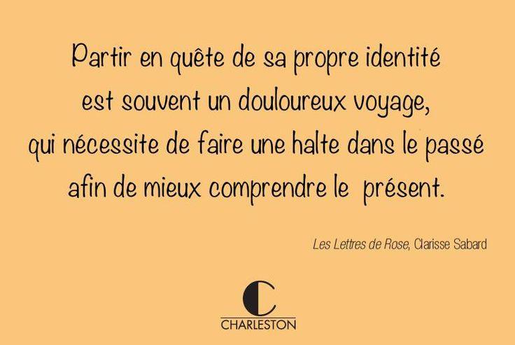 """Découvrez le beau roman de Clarisse Sabard, """"Les lettres de Rose"""" !"""