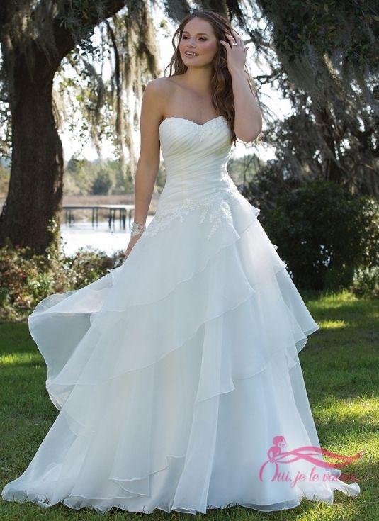 Les 25 meilleures id es de la cat gorie robe avec haut en for Robes de renouvellement de voeux de mariage taille plus