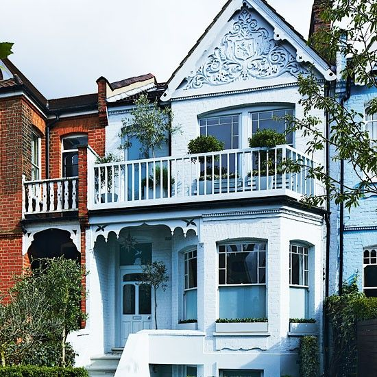 21 best images about edwardian houses on pinterest for Terrace of the house
