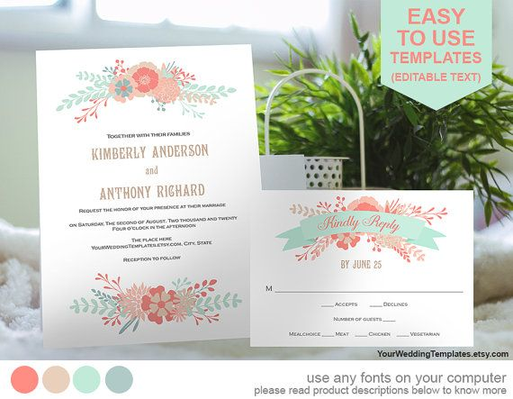 23 Best Wedding Invitation Templates Images On Pinterest   Microsoft White  Paper Template  Microsoft White Paper Template