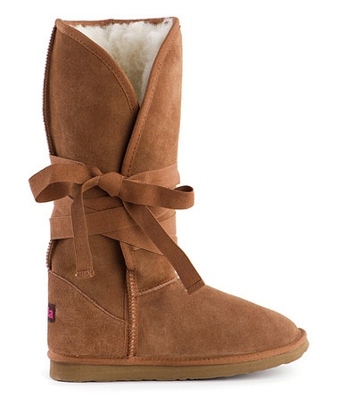 Take a look at this Chestnut Micha High Boot - Women by Ukala Sydney on #zulily today!