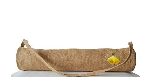 Handcrafted Yoga Mat Bags with Lotus and Om Embroidery - Natural Burlap Yoga Bags - Yoga Totes - Yoga Mat Sling - Yoga Backpack - Yoga Accessories - Exercise Bag - Gift Bag in Natural Burlap with Hand Embroidery - Embroidered Bags - Gift for Her Amore Beaute http://www.amazon.com/dp/B00RFRNZUS/ref=cm_sw_r_pi_dp_oWD1vb10NP327