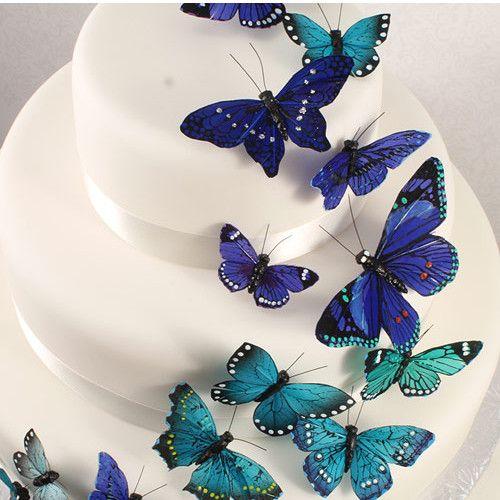 man kann nie zu viele Schmetterlinge haben ;-)