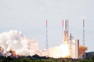 India's advanced meteorological satellite INSAT-3D was successfully launched by an European rocket from the spaceport of Kourou in French Guiana early on Friday, giving a boost to weather forecasting and disaster warning services.