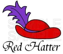 Red Hat Society .... Mom was a member...they loved taking day trips together and doing activities together.