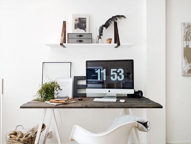 화이트 아파트 인테리어 (책상 인테리어 위주) | 인스티즈