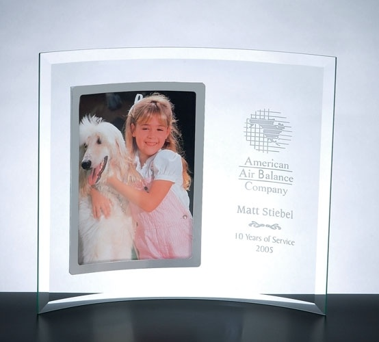 engraved curved frame with silver portrait the perfect unique gift for any occasion