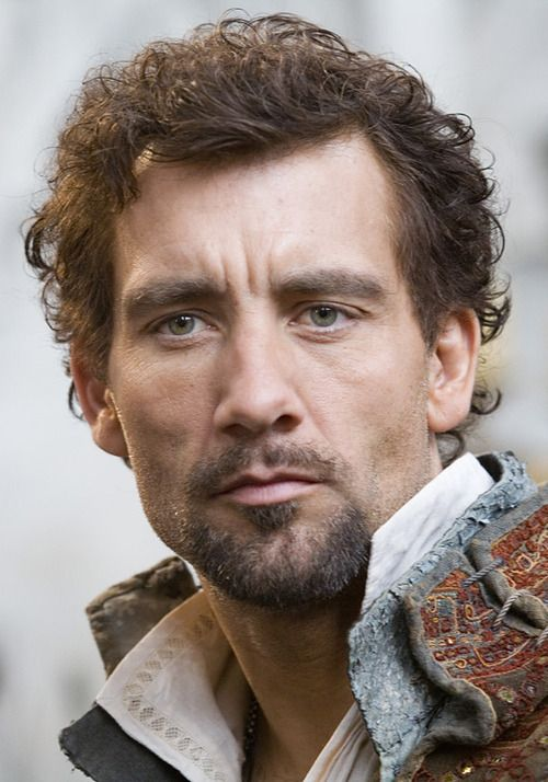 Clive Owen as Sir Walter Raleigh (yes I know he's already played Sir Walter in a movie)