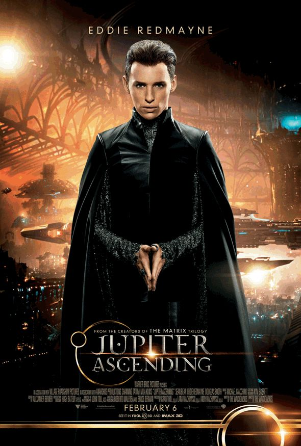 Póster de personajes para 'El destino de Júpiter' (Jupiter Ascending)