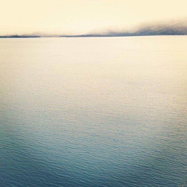 Lake Wanaka wintery and cold