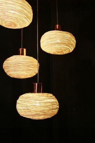 'Unit Rattan Pendant Light by ANGO. @2Modern'