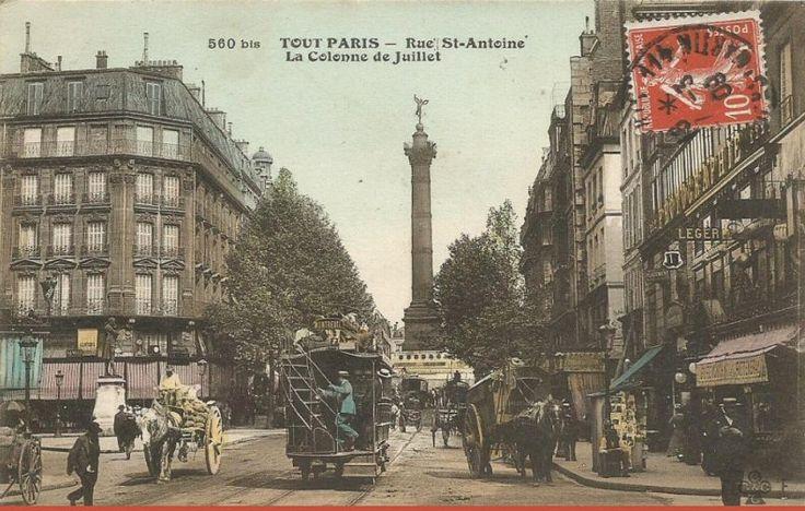 bastille paris statue