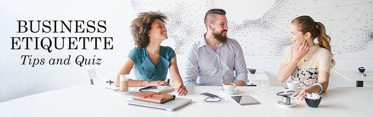 Business Etiquette Tips Everyone Should Know   Tiny Prints  via Tiny Prints