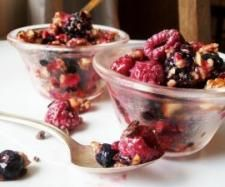 Berry Nougat with Cacao Nibs by Quirky Cooking