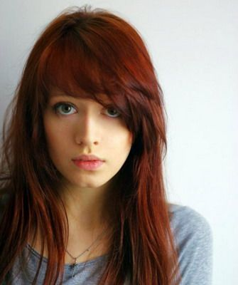 Длинные волосы с косой челкой, фото ассиметричных стрижек на длинные волосы