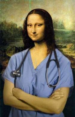 Mona Nurse Blue