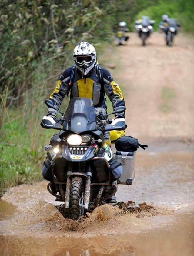 Touratech, all the gear and nowhere to go.