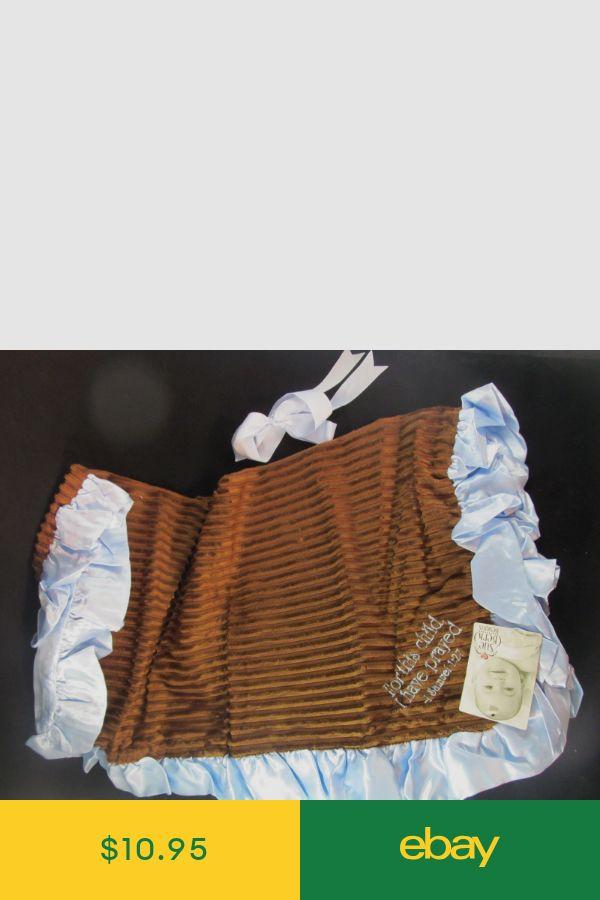 "1 Sam 1:27 Sue Berk Design Baby Blankets-/""For This Child I Have Prayed/"" New"