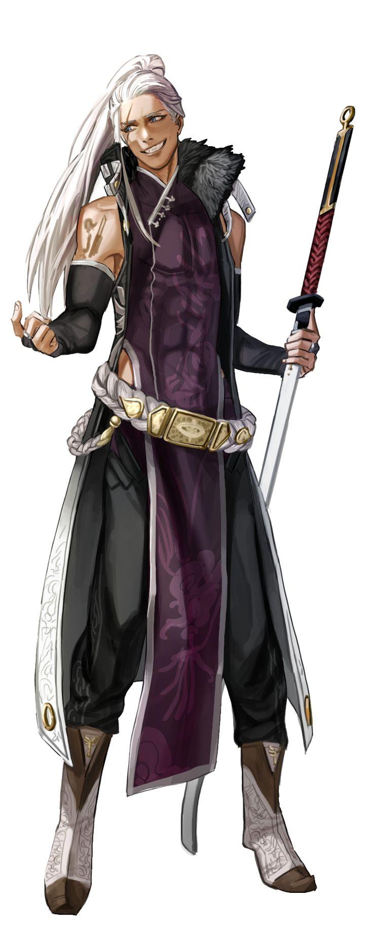 lurian (hombre lobo guerrero/luchador)