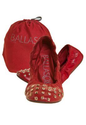 Sapatilha Ballasox Cap Toe Spikes Vermelha - $199.90 | Dafiti