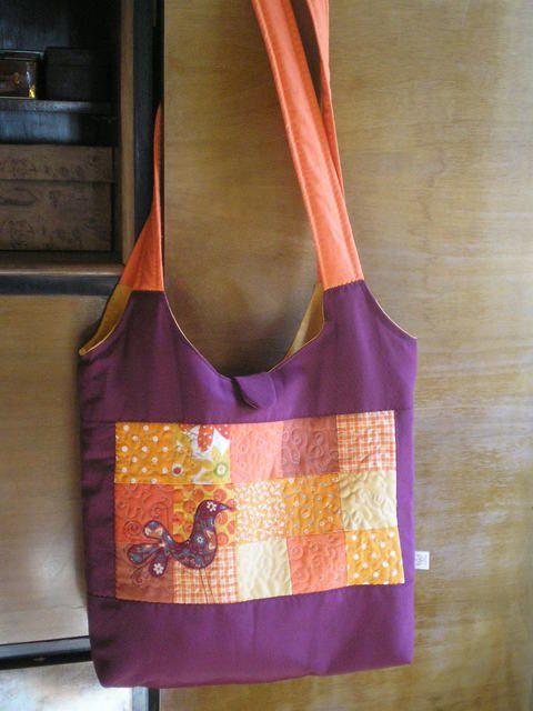 Madaras táska élénk színekben, Táska, Baba-mama-gyerek, Válltáska, oldaltáska, Meska