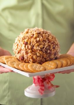 Mix 'n Match Party Cheeseball – Liven up the appetizer table with a party cheese ball that lets you mix-and-match abandon.