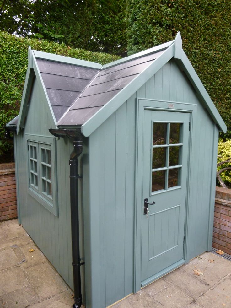Bespoke Potting Shed With Slate Effect Roof The Potting