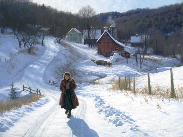 "Robert Duncan- ""December Sunshine"" oil- 30""x40"""