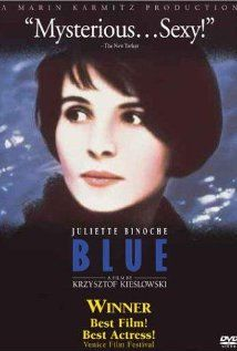 [ Three Colors: Blue (1993) ] : First of a trilogy of films dealing with contemporary French society concerns how the wife of a composer deals with the death of her husband and child.