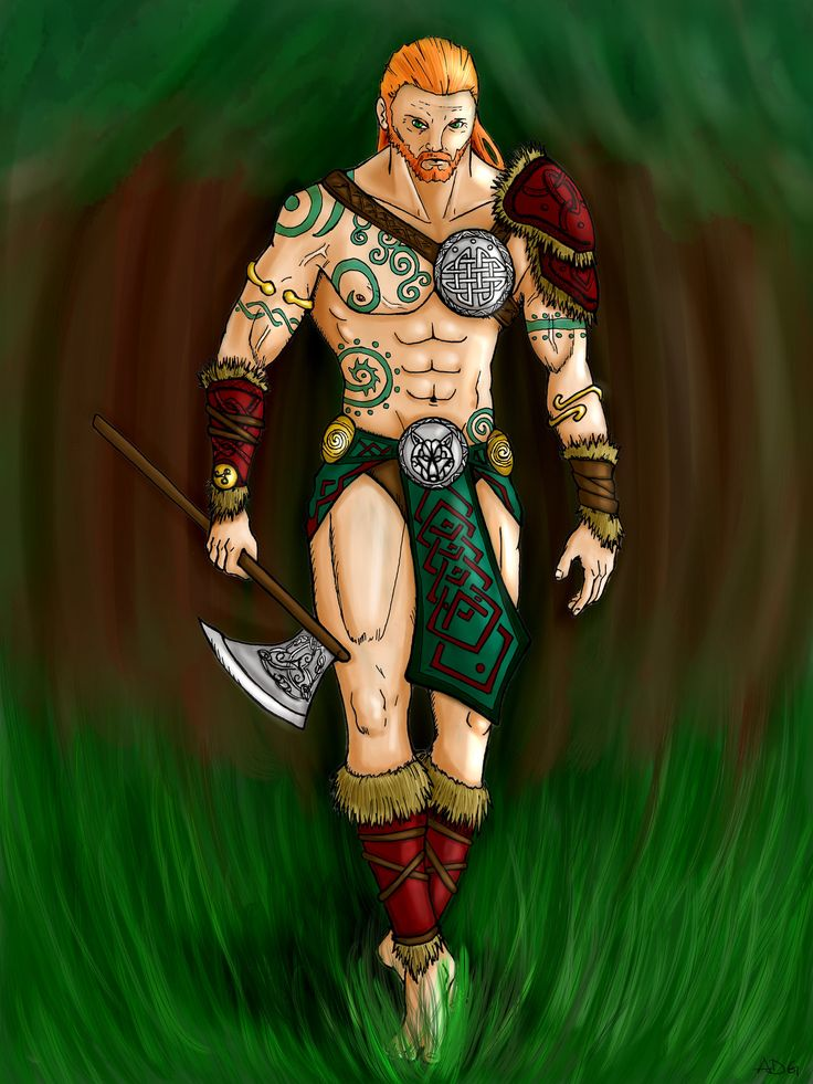 The Celtic Tarot Courtney Davis 9780850309201 Amazon: Celtic Warrior With Colors By