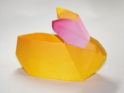 Origami-Hase zu Ostern | LECKER