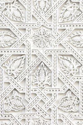 Beautiful #White ceiling. #Interior Architecture detail of a carved wood ceiling.