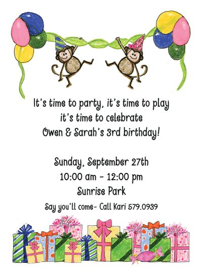 69 best Invitations for Boys images – Invitation About Birthday Party