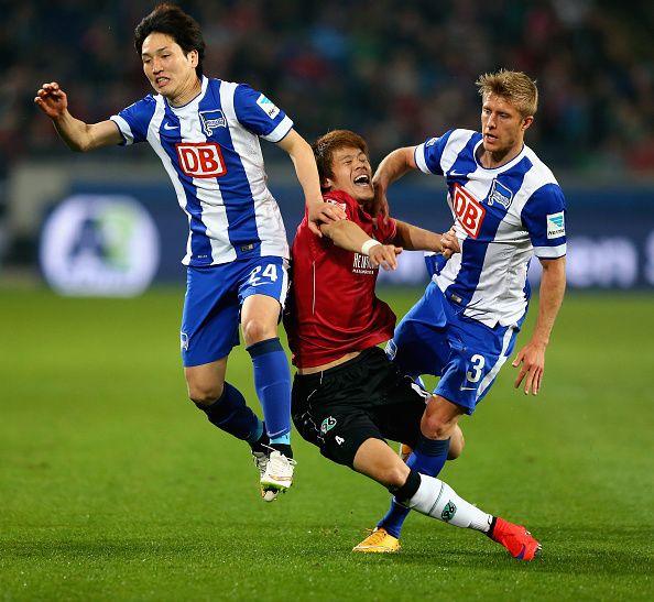 Genki Haraguchi and Per Ciljan Skjelbred of Hertha BSC coming soon next year