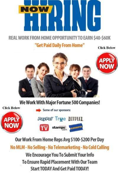WORK FROM HOME REFERRAL AGENTS NEEDED http://gainfinancialfreedom ...
