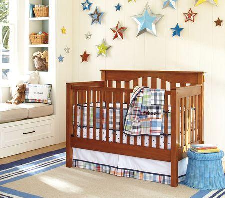 stars on the nursery wall