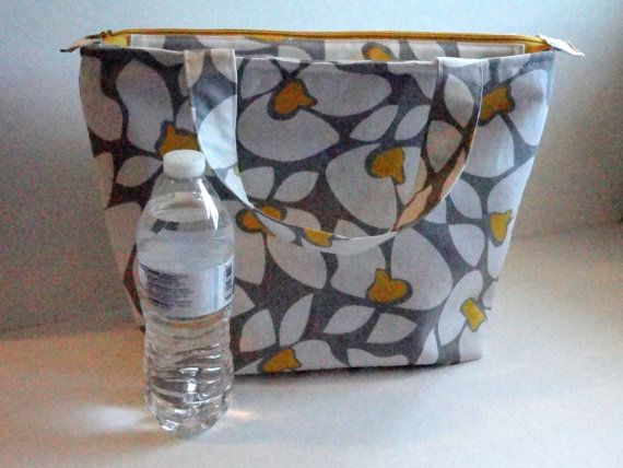 Insulated Extra Large Lunch Bag Womens Lunch Bag by SewProDesigns, $42.00