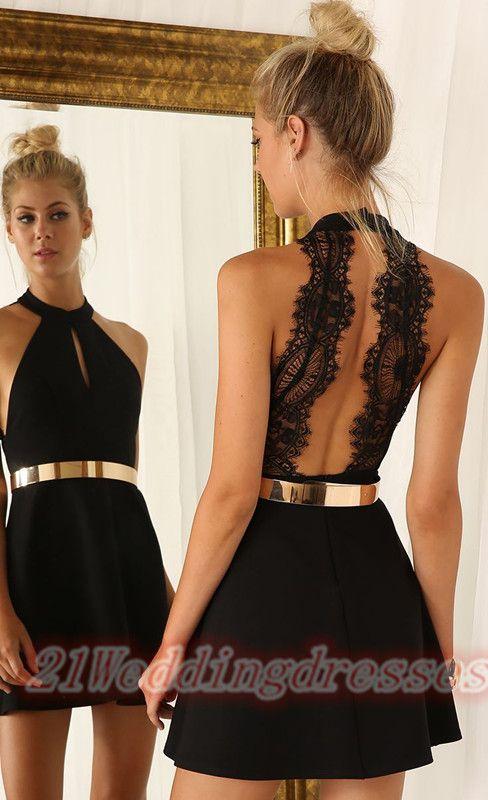 Top Selling Black Homecoming Dresses,Backless Graduation Dresses http://21weddingdresses.storenvy.com/products/15727371-top-selling-black-homecoming-dresses-backless-graduation-dresses