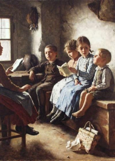 Simon glucklich german 1863 1943 art pinterest the for Oil painting lessons near me