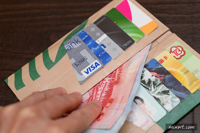 Starbucks Paper Bag Origami Wallet