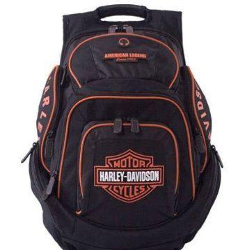 Harley-Davidson® Bar & Shield Deluxe Backpack.  #harley davidson # backpack