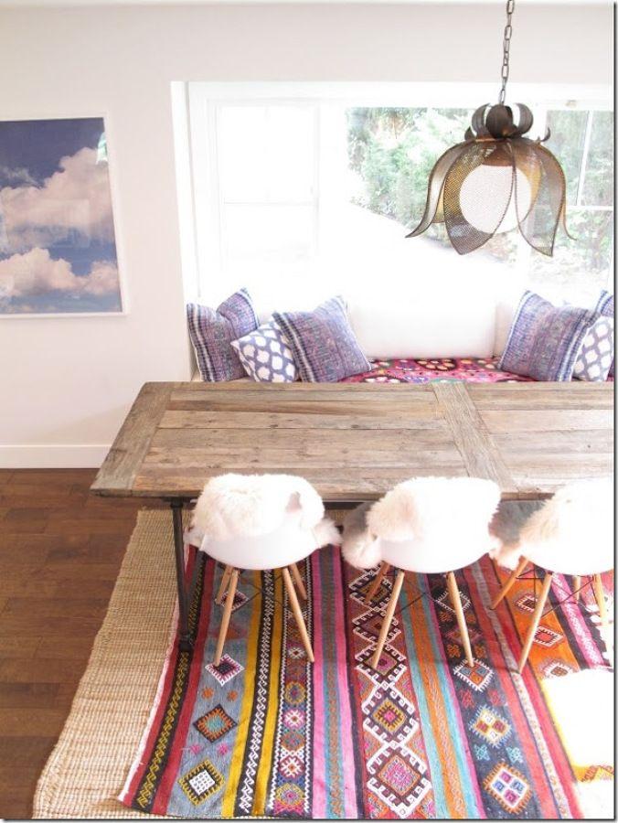summer 2015 interior trends kilim boho moorish inspiration tropical memphis design and