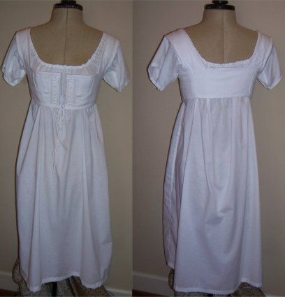 From Sense and Sensibility. These are the short stays for under Jane Austen dresses.