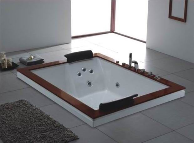 Oversized 2 person jetted bathtubs china jacuzzi chinese jacuzzi manufactu - Jacuzzi 2 places dimensions ...