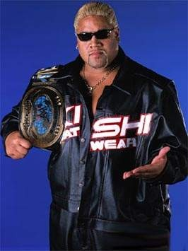 WWF Intercontinental Champion Rikishi