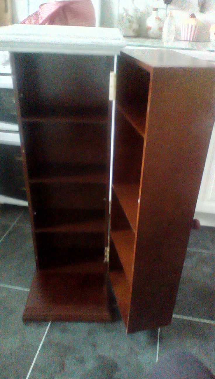 CD cabinet. Before