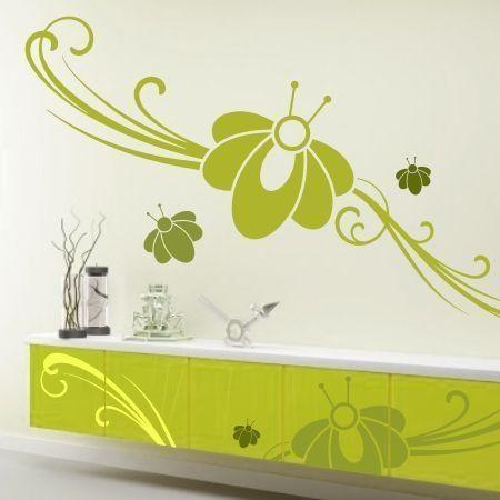 Szablon malarski - Kwiaty | Paint template - Flowers | 20,09 PLN #paint #template #flowers #home_decor #interior_decor #design #wall_decor #szablon #szablon_malarski #kwiaty #kwiatek #dekoracja_ściany #dekoracja_wnętrza