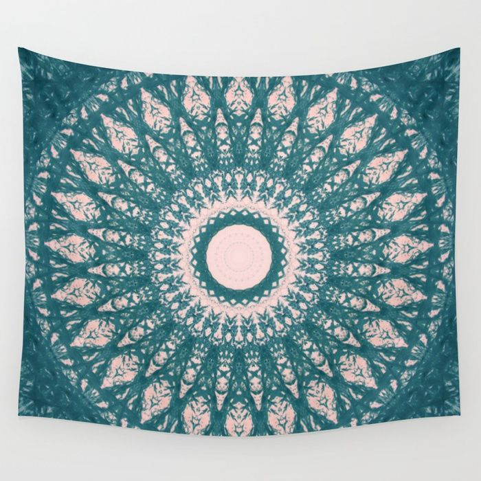 MANDALA NO. 33 #society6 Wall Tapestry #mandala #sboar #interior #design #homedecor #house #universe #cosmos #stars #wallart #2018 #college #bedroomdecor #newroom